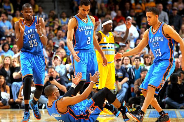 Who Should Be OKC Thunder Clutch 5 in NBA Playoffs?