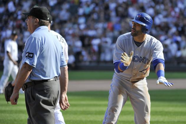 Bautista, the Blue Jays and Umpires: Is There a Problem Here?