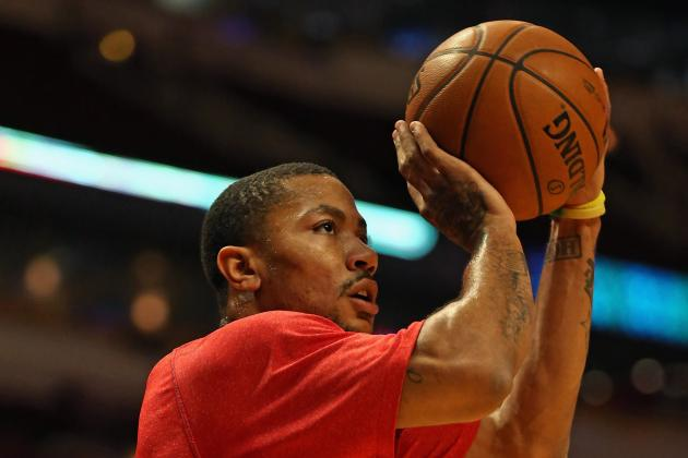 What to Expect from Derrick Rose's 3-Point Stroke