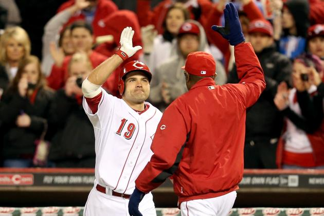 Phillips, Votto Help Reds Rally Past Angels