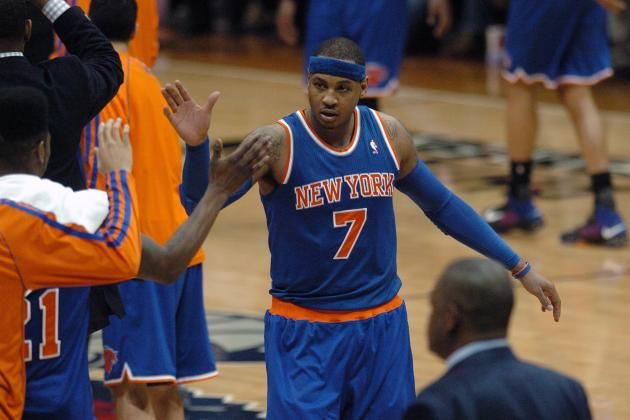 Can Carmelo Anthony Carry His April Touch into Postseason?