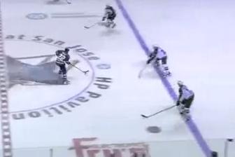 Video: Dan Boyle Goes Coast-to-Coast Against Minnesota