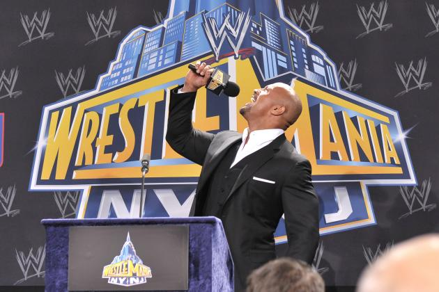 John Cena vs. the Rock: WrestleMania Match Won't Exceed Last Year's Main Event