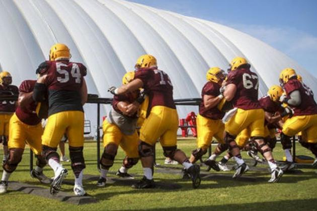Arizona State Football: News and Notes from Week Two of Spring Practice