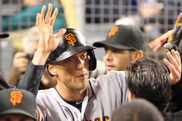 Pence's HR Helps Giants Take Down Dodgers