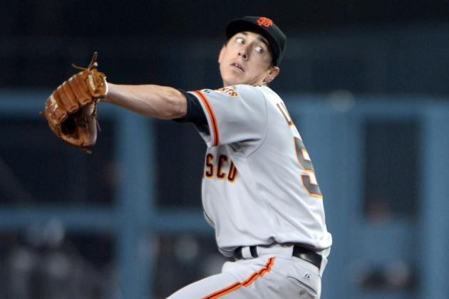 Tim Lincecum Earns the Victory, Pablo Sandoval Socks Two-Run Homer in Victory