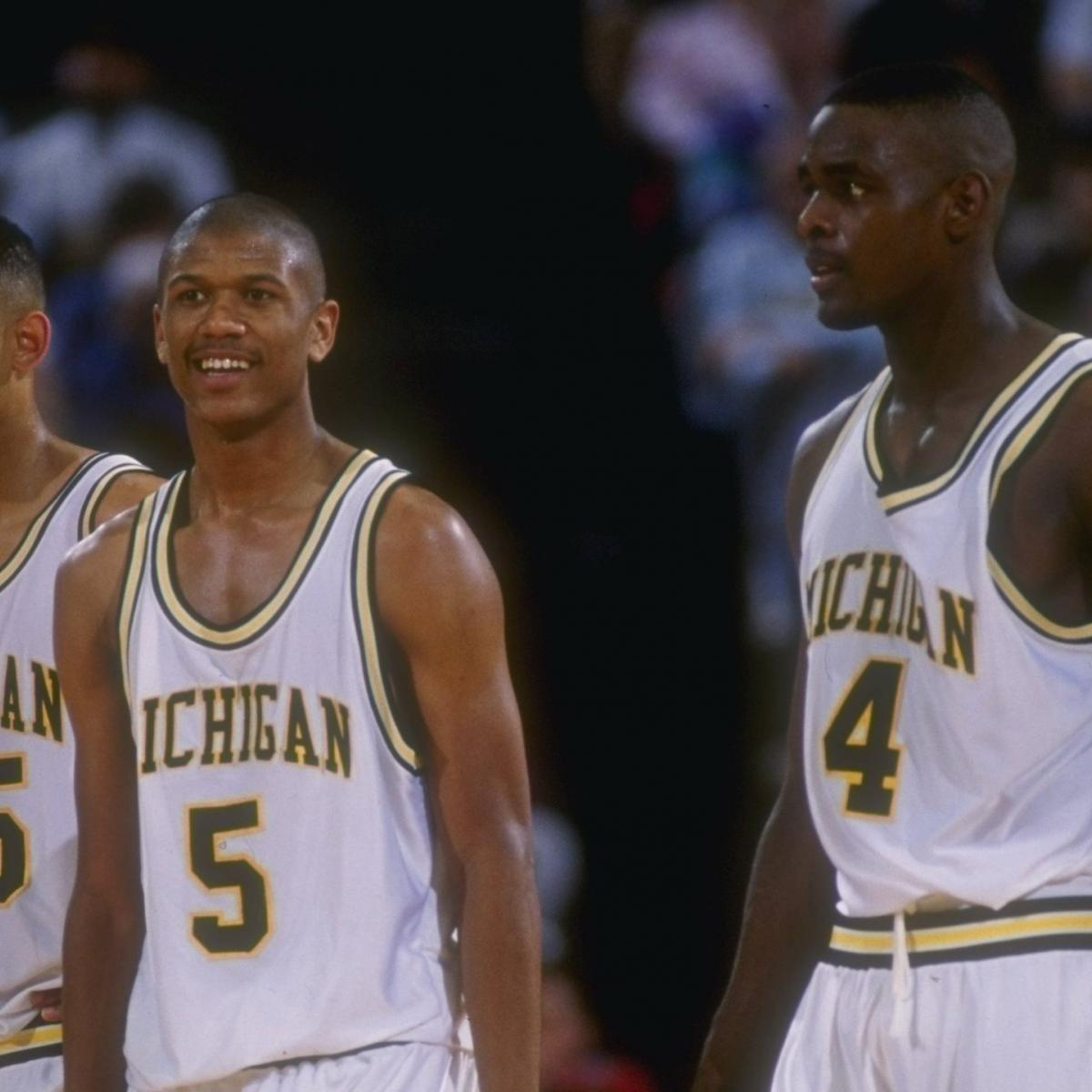 Top Ten Fab Pictures: How Michigan's Fab Five Changed The NBA Forever