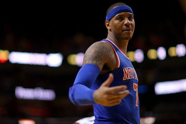 Why Carmelo Anthony's Teams Have Suffered Playoff Disappointment