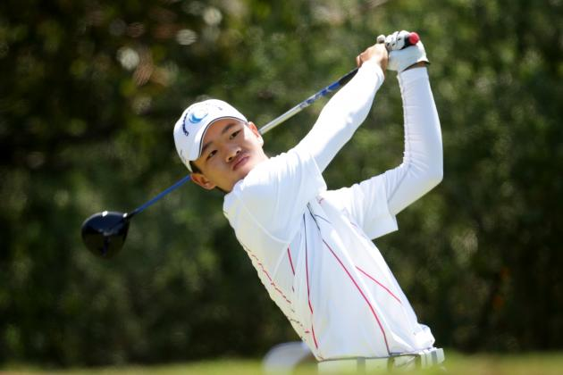 2013 Masters Tournament Invitee Tianlang
