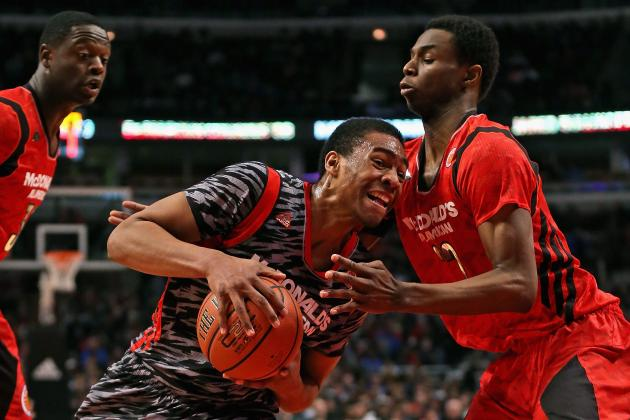 Twitter Reacts to Andrew Wiggins' McDonald's All-American Game Performance