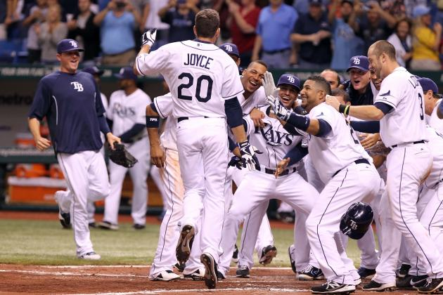 Matt Joyce Powers Tampa Bay Rays to First Victory with Walk-off Blast