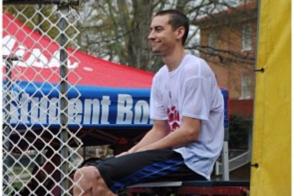 Marshall Henderson Spends Day in Dunk Tank NOT Filled with Acid