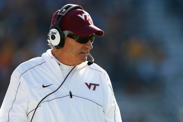 Tech's Frank Beamer Honorary Pace Car Driver for STP Gas Booster 500