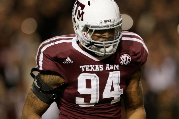 Texas A&M Pass Rusher Damontre Moore Visited Ravens, Source Says