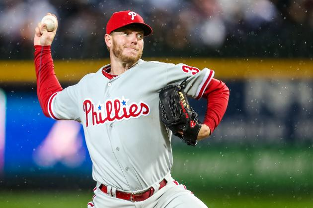 Roy Halladay's Struggles Continue, Gets Hook in Fourth Inning of Phils' Loss