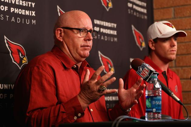 Arians: I Don't See a Quarterback the Cardinals Would Take at No.7