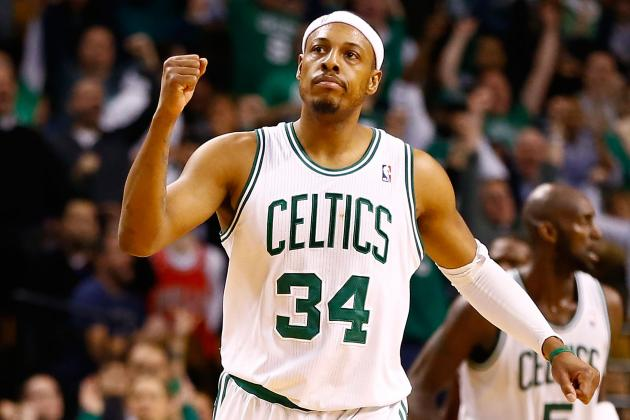 Pierce Returns to Action After Giving His Newborn Son an Awesome Name