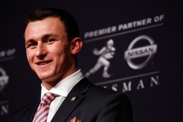 Manziel on Flashing the Texas Hook 'em Horns Sign: 'For Me, It's Not a Rivalry'