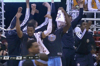 Danilo Gallinari Hits Transition Three, Cues Perfectly Italian Celebration