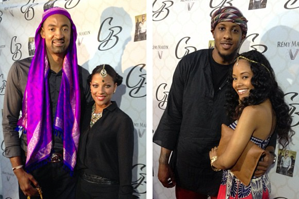 Chris Bosh Celebrates 29th Birthday with Moroccan Theme