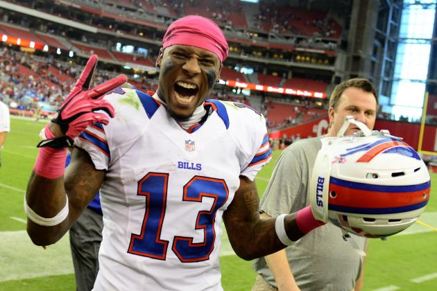 Stevie Johnson Offers Military Advice to North Korea, Advises Nuking Foxboro