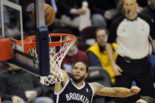 Video: Deron Williams Dunks for the First Time This Season