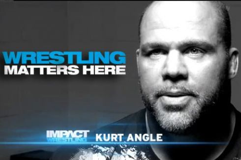 TNA and Former WWE Wrestler Kurt Angle Reveals When He Will End Full-Time Career
