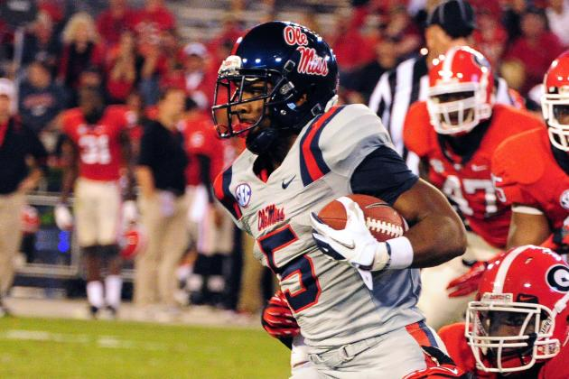 Ole Miss Has Plenty in RB Stable