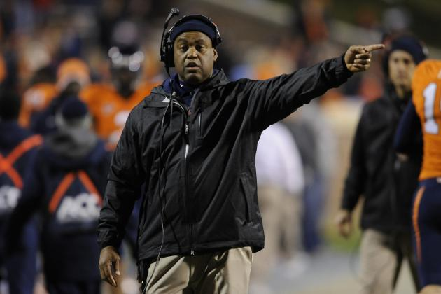 With New Coaches, Virginia Football Learning a New Language in Spring Practice