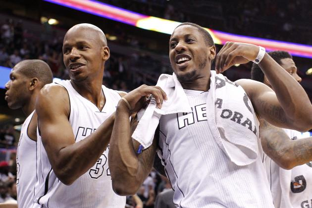 Ray Allen Added to Heat Players out vs. Bobcats