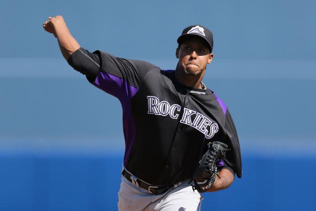 Juan Nicasio Sums Up the Rockies' Offense vs. Brewers: 'Wow!'