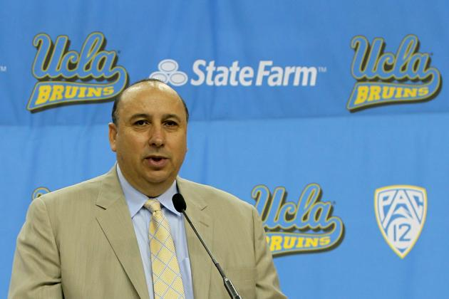 UCLA Extends Athletic Director Dan Guerrero's Contract Through 2019