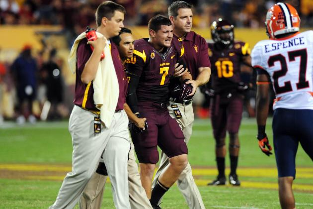 ASU Football's Carlos Mendoza Happy to Be on Practice Field Again