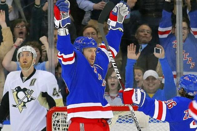 New York Rangers: New Players Show Up Big in 6-1 Win