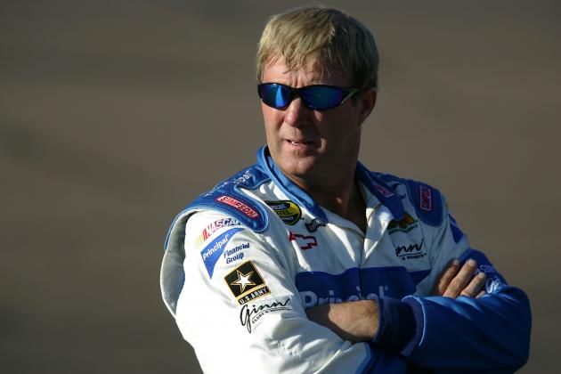 NASCAR Great Sterling Marlin Can Relate to Denny Hamlin's Hard Wreck and Injury