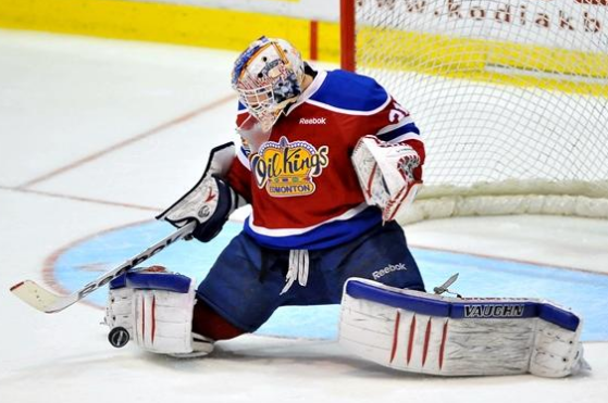 Flames Sign G Brossoit to Three-Year Contract