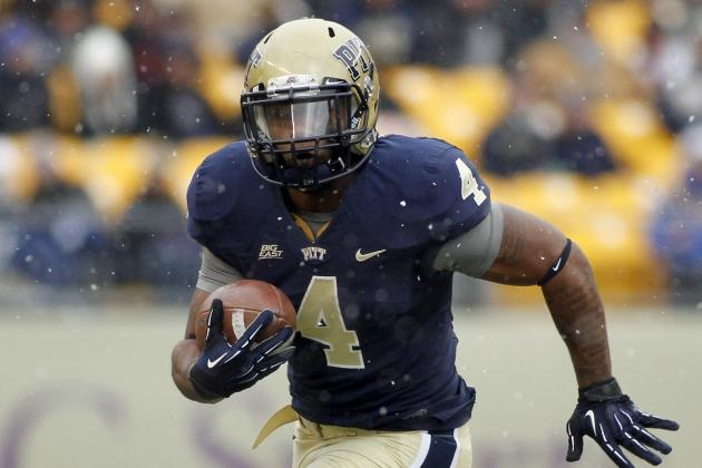 Washington running back keeps eye on Pitt