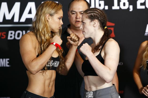 Invicta FC 5: Sarah Kaufman Looking for Rematch with UFC Champ Ronda Rousey
