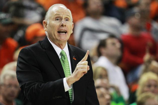 Miami's Larranaga AP Coach of the Year