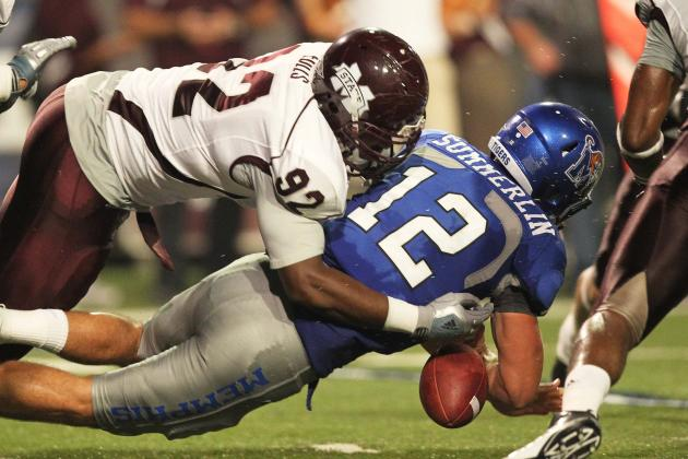 Mississippi State's Eulls Adjusting to Defensive Tackle