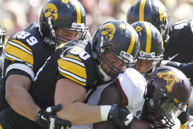 Iowa Scrambling for Pass Rush