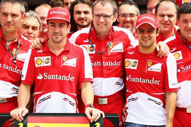 Civil War Brewing at Ferrari as Massa Getting the Better of Alonso