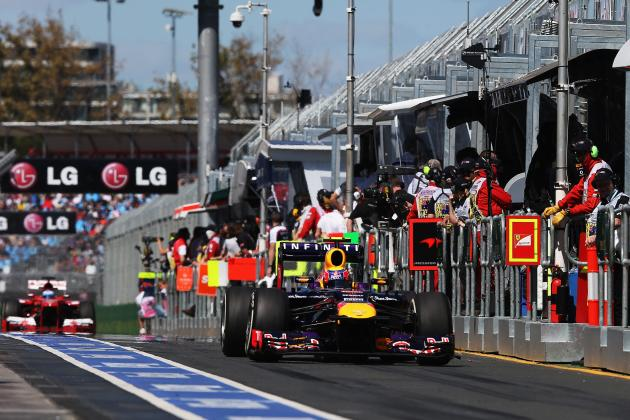 Red Bull Claim Pit Stop World Record During Malaysian GP