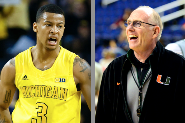 Michigan's Trey Burke, Miami's Jim Larranaga Named AP Player, Coach of the Year