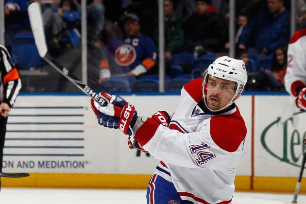 Plekanec Day-to-Day with Groin Injury