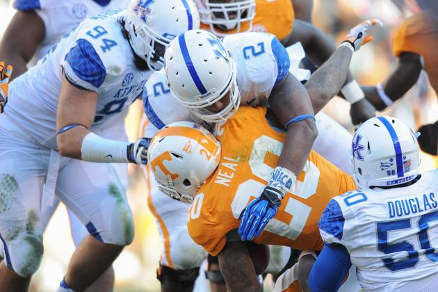 New Kentucky Football Tempo Keeping Linemen Gassed
