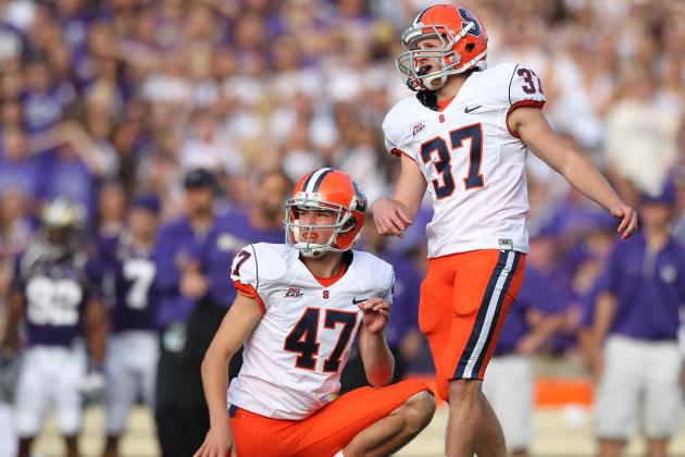 Cuse's Kicker, Ross Krautman, Finds Himself in Battle to Be Starter