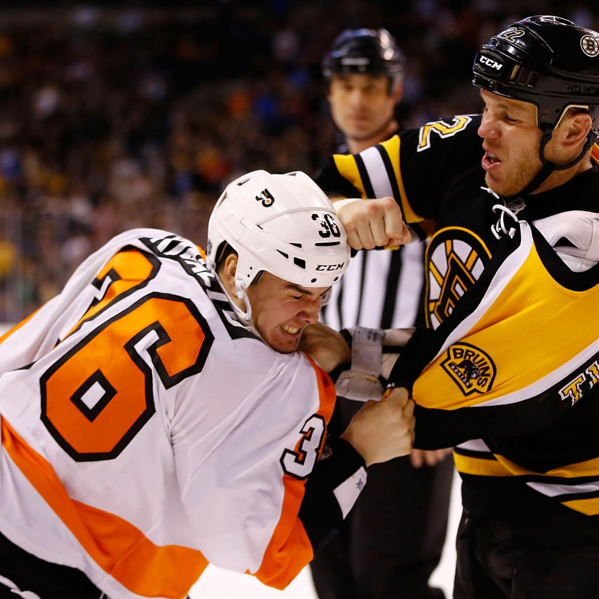 The Top 10 Moments in the Philadelphia Flyers vs. Boston ...Bruins Bleacher Report