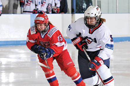Alex Carpenter Represents Youth Movement for US Women's Hockey Team