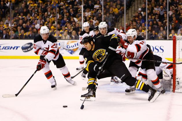 ESPN Gamecast: Devils vs. Bruins